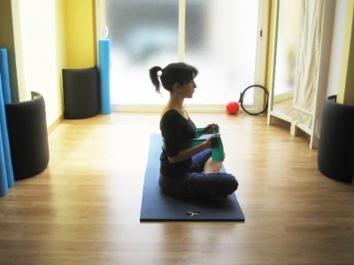 Posición inicial ejercicio triceps